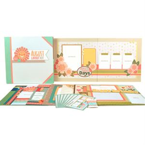 Picture of August Layout Kit